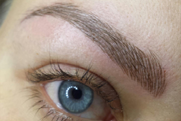 Permanent makeup microblading san diego permanent for Eyebrow tattoo aftercare instructions